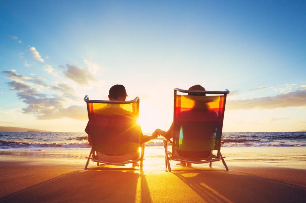 Rentner im Urlaub